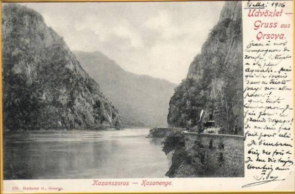 defileul_dunarii_la_cazane_1906