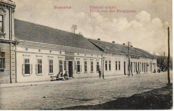 bozovici_strada_principala_in_1910